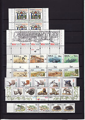 South Africa - 1995/6 Various Stamps In Blocks/strips Um
