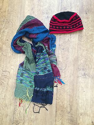 Scarf And Hat Set Mix And Match