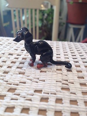 Vintage Small Dachshund - Blown Glass Replica of the Large Rosenthal