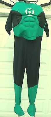Rubie's Green Lantern Mens Large Size Halloween Costume-Lightly Used-LOOK!
