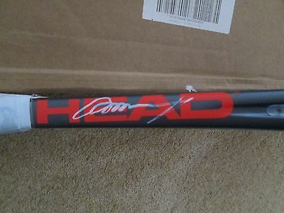 Andy Murray Signed Head Tennis Racquet One Of A Kind!