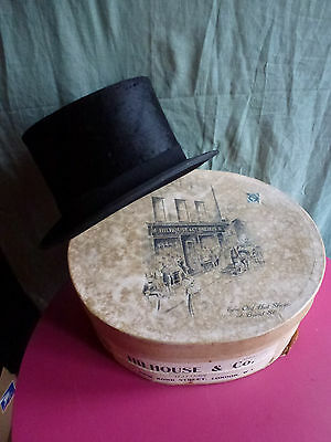 Stunning Rare Original Vintage Top Hat In Immaculate Condition In Original Box