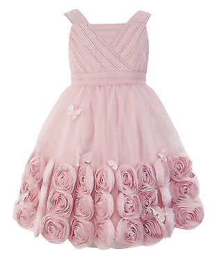 Monsoon Vivianna dress age 10 dusky pink flower girl  bridesmaid party SOLD OUT