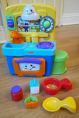 Fisher Price Laugh and Learn learning​ kitchen toy music fridge pretend play