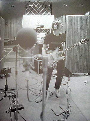 Iconic Paul Weller in Studio 1994 Page from Music Book 20x18cm Jam