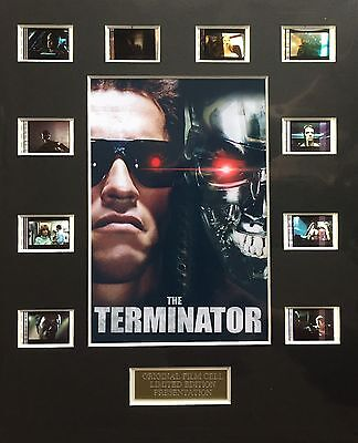 The Terminator 35mm Film Cell Display