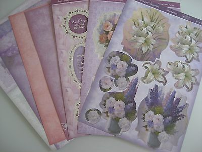 Hunkydory - Lace Bouquet Collection 1 - new