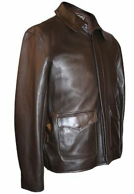 Indiana Jones Raiders of Lost Ark Jacket 'Authentic Lamb' by Wested Leather