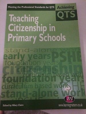 Teaching Citizenship in Primary Schools by SAGE Publications Ltd (Paperback, 20…