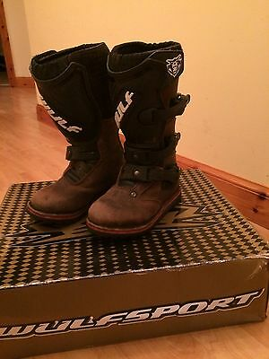 Wulf Cub Child's Trials Boots (Size 28 Infant UK 10)