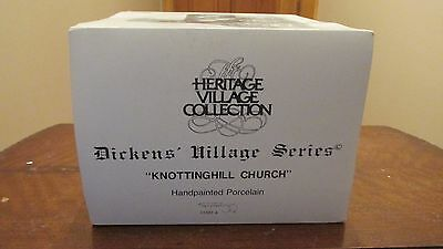 """Department 56 Heritage / Dickens Village """"knottinghill Church"""""""