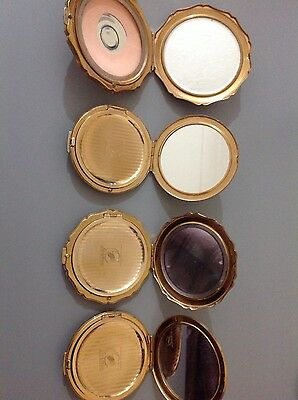 collection of vintage Stratton powder compacts