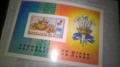 royalty imperforate MNH Niger 1981