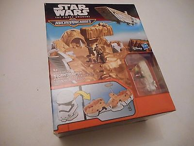 Star Wars - The Force Awakens Micro Machines First Order Stormtrooper Playset