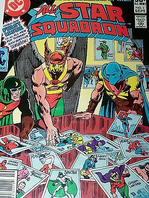 All-Star Squadron Issues 1 2 3 4 5 6 7 8 9 10 11 12 *FREE PRIORITY SHIP*