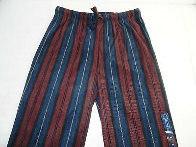 Club Room Men's Sleepwear Lounge Pants Pajamas Navy/Maroon NWT Size M