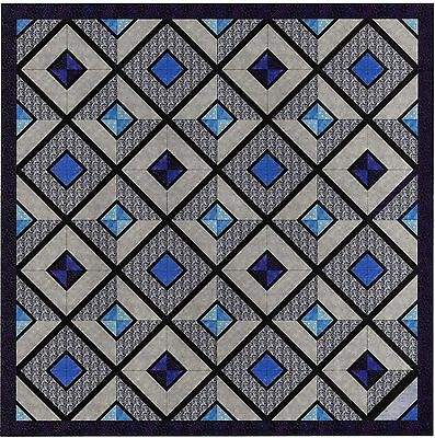 Easy Quilt Kit/Reflection Pool/Pre-cut Fabrics Ready To Sew!!****