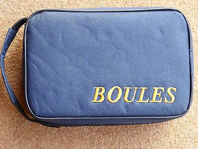 Boules Set Compleate With Bag With Rules Of Play