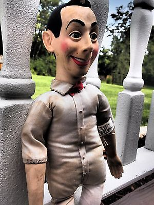 Pee Wee Herman Doll 1987 Matchbox Bendable Figure Collectible - No Talk/Clothing