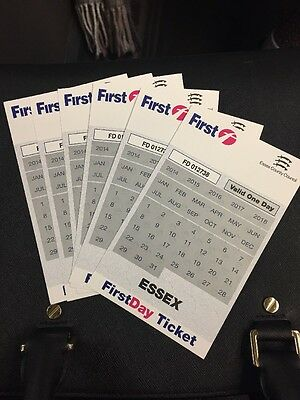 6 x FirstDay Bus Tickets for use in Essex