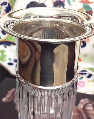 25% OFF Cut Crystal & Atlantis 999? Silver Marked Vase