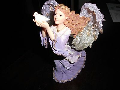 """THE CHARMING ANGELS BOYDS """"Celina Joy of the Holidays""""with charm"""