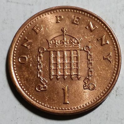 2001 One Penny Great Britain/UK Coin