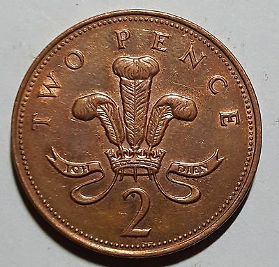 1998 Two Pence Great Britain/UK Coin
