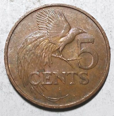 1979 5 Cents Trinidad and Tobago Coin