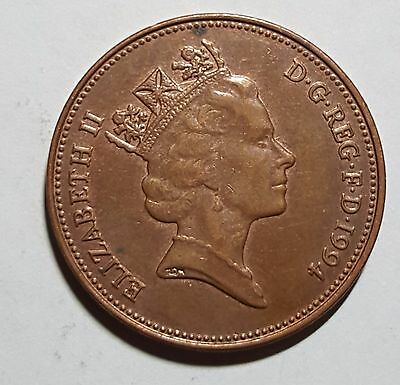 1994 Two Pence Great Britain/UK Coin