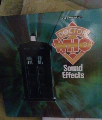 doctor who sound effects vinyl