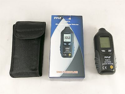 NEW Pyle PMD74 Microwave Leakage Detector
