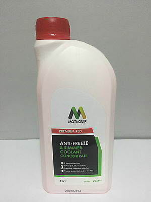 Car Anti-Freeze Summer Coolant Concentrate 5-Year Longlife - Oat - 1L 1 Litre