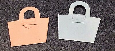 1953 First Year Plain Nancy Ann Purses - Pink And Blue - For 'muffie'