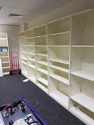 Office / Garage  Shelving 900 W x 2200 H x 400 D