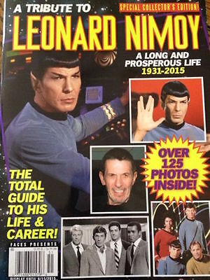 Leonard NimoyTribute Special Collector's Edition Magazine— Over 125 Photos! NEW!