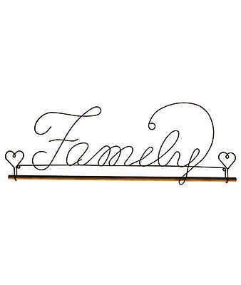 FAMILY WIRE 16in. QUILT HANGER, With Wood Dowel From Ackfeld Manufacturing NEW