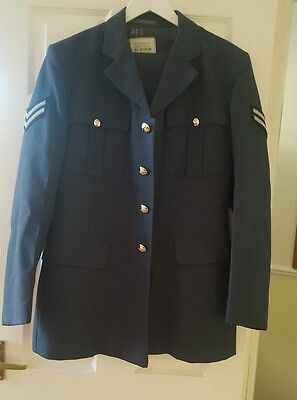 Genuine Royal Air Force No1 Service Dress Uniform RAF Jacket and Trousers.