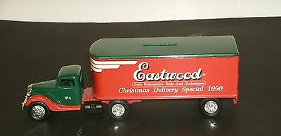 ERTL 1937 FORD TRACTOR TRAILER Eastwood Delivery Special 1990