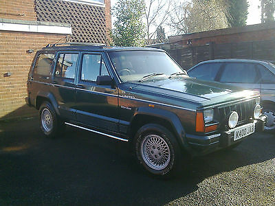 1993 Jeep Cherokee Limited Auto Green