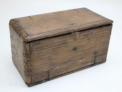 Antique Singer Sewing Attachments Wooden Puzzle Box Pat.1889 (a)
