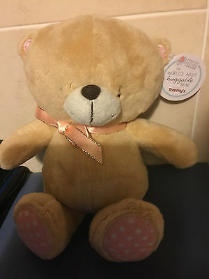 Forever Friends Tommy's Baby Charity Huggable Bear   NEW