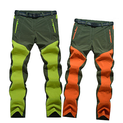 Women's Sports Quick Dry Pants Water-resist Breathable Hiking Cycling Trousers