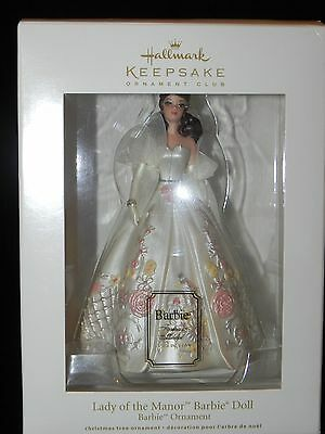 Hallmark 2011 Lady of the Manor Barbie Ornament - New