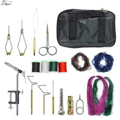 1Set Fly Fishing Fly Tying Tools Kit in Portable Bag,EVERYTHING YOU NEED