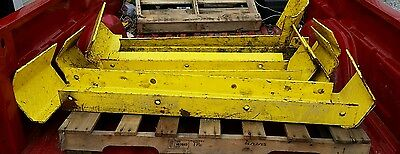(7) Bluff End Of Aisle Safety Pallet Rack Guards Protectors
