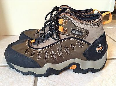TIMBERLAND Pro Men's Brown Steel Toe Boots Size 7M