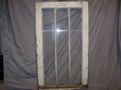 OLD VINTAGE WOOD WINDOW SASH 16 x 27