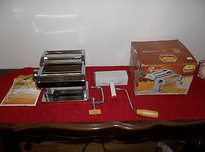 Atlas Marcato Model 150 Pasta Machine, Never Used, In Org. Box.
