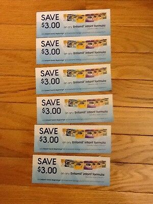 $18 (6 X $3) Off ANY Enfamil INFANT Formula Coupons Expire 3/30/17